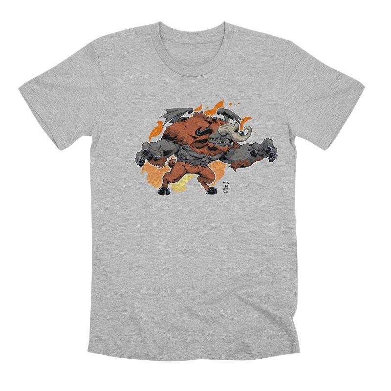 New Jersey Devil Men's T-Shirt by Little Ninja Studios