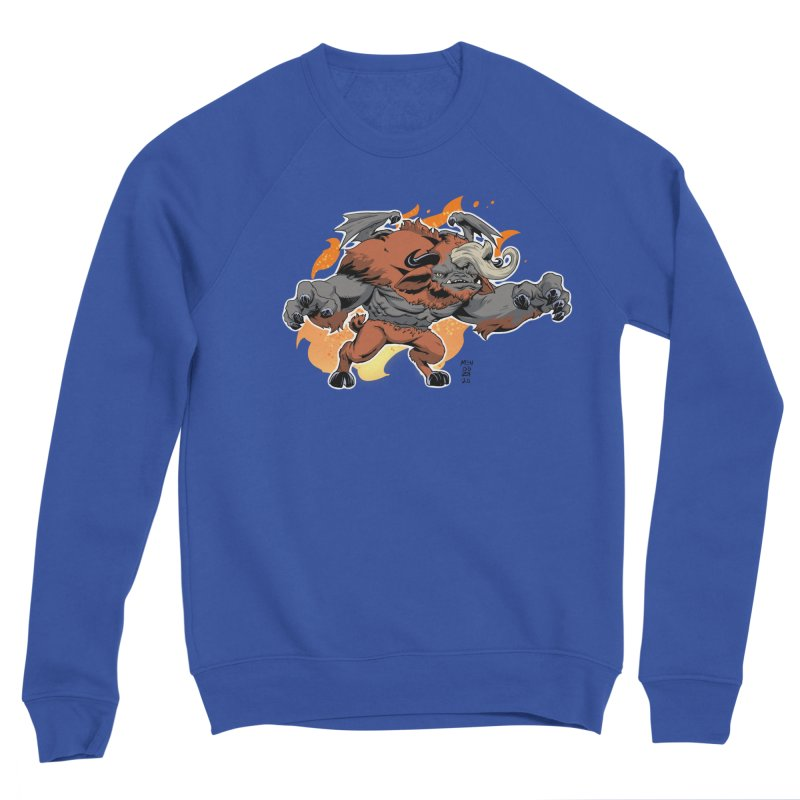 New Jersey Devil Women's Sweatshirt by Little Ninja Studios