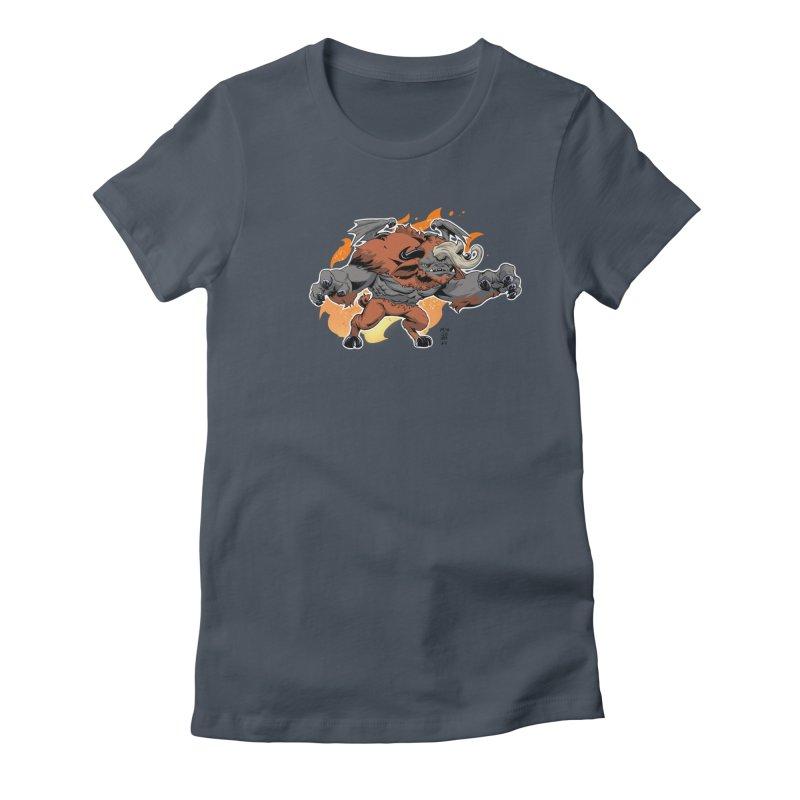 New Jersey Devil Women's T-Shirt by Little Ninja Studios