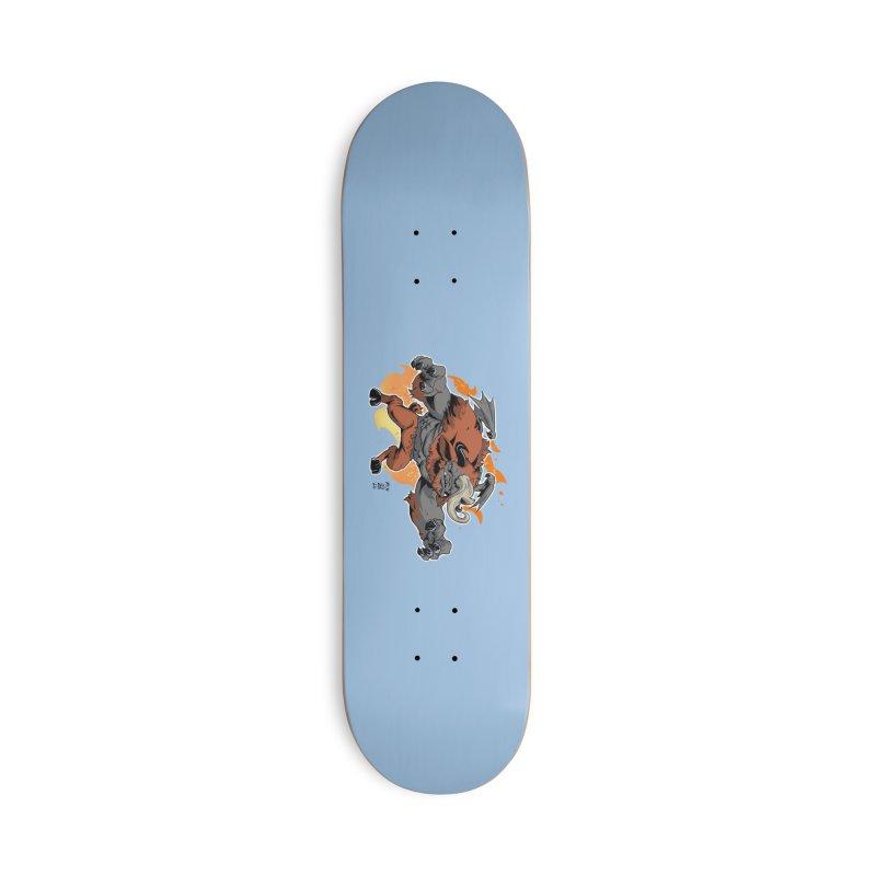 New Jersey Devil Accessories Skateboard by Little Ninja Studios
