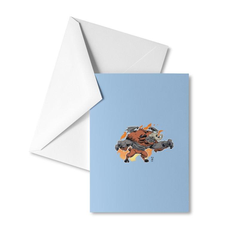 New Jersey Devil Accessories Greeting Card by Little Ninja Studios
