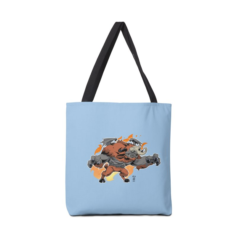New Jersey Devil Accessories Bag by Little Ninja Studios