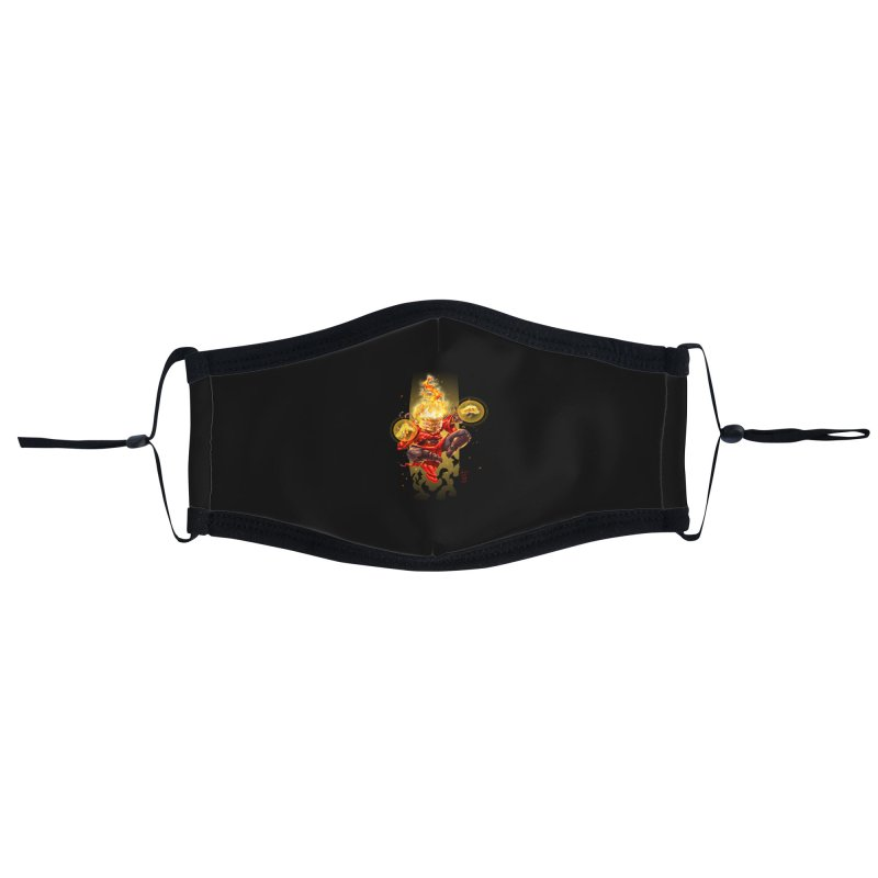 Pyromancer II Accessories Face Mask by Little Ninja Studios
