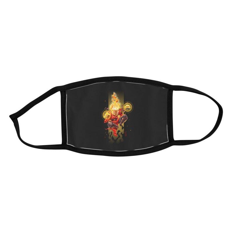 Pyromancer II Accessories Face Mask by Little Ninja Studios