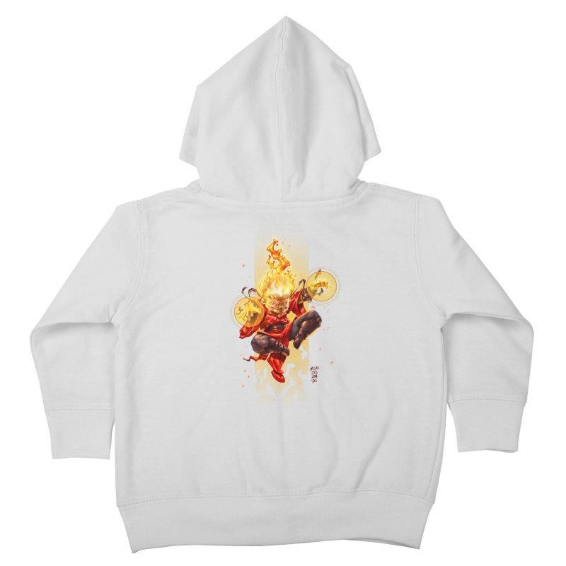 Pyromancer II Kids Toddler Zip-Up Hoody by Little Ninja Studios