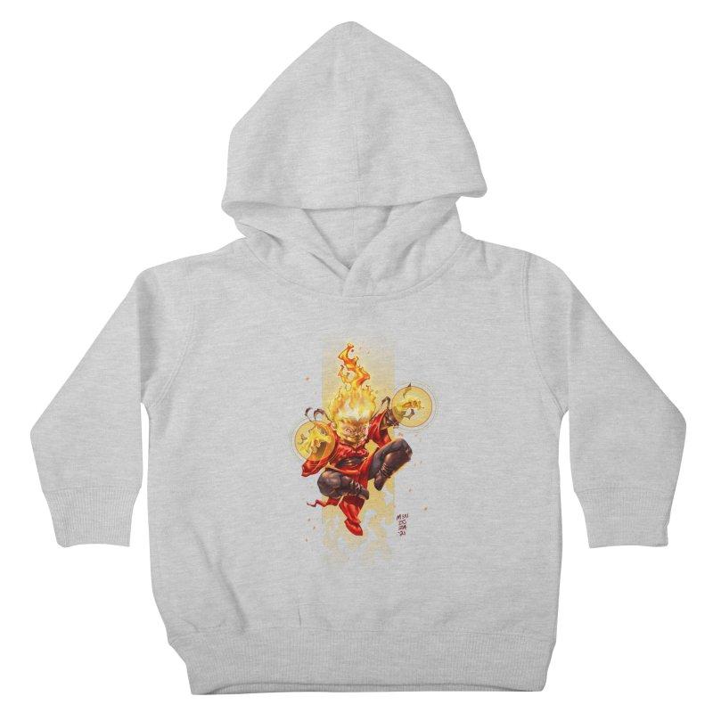 Pyromancer II Kids Toddler Pullover Hoody by Little Ninja Studios