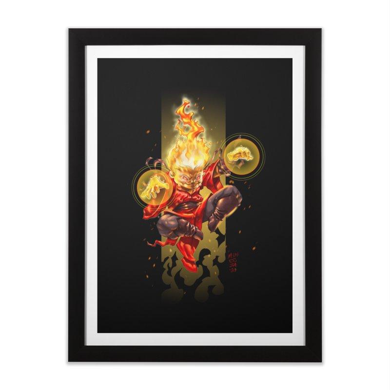 Pyromancer II Home Framed Fine Art Print by Little Ninja Studios