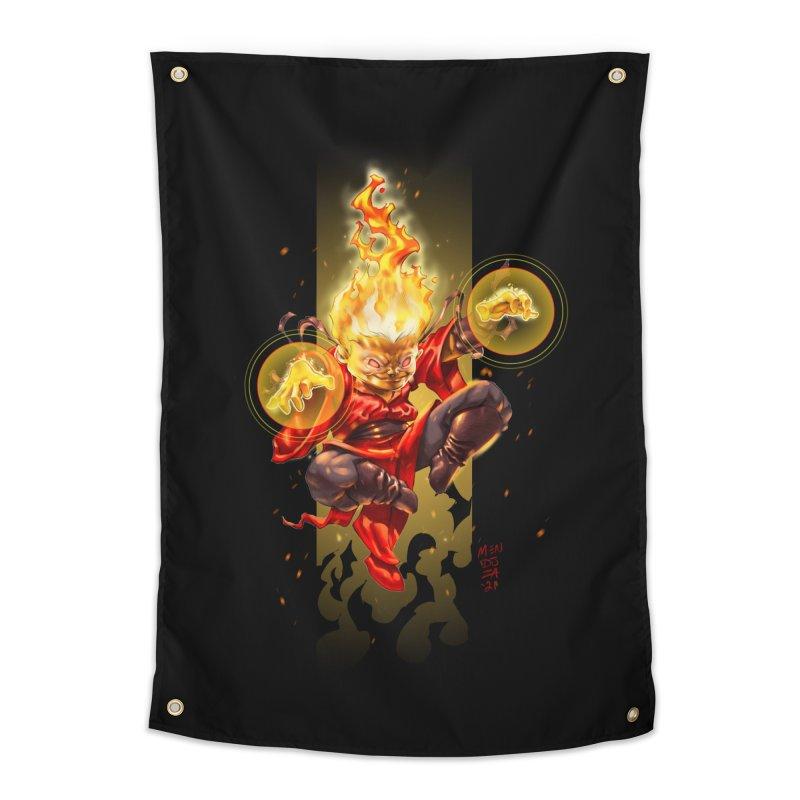 Pyromancer II Home Tapestry by Little Ninja Studios