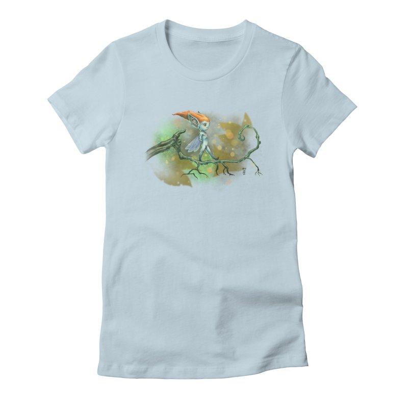 Wood Nymph Women's T-Shirt by Little Ninja Studios
