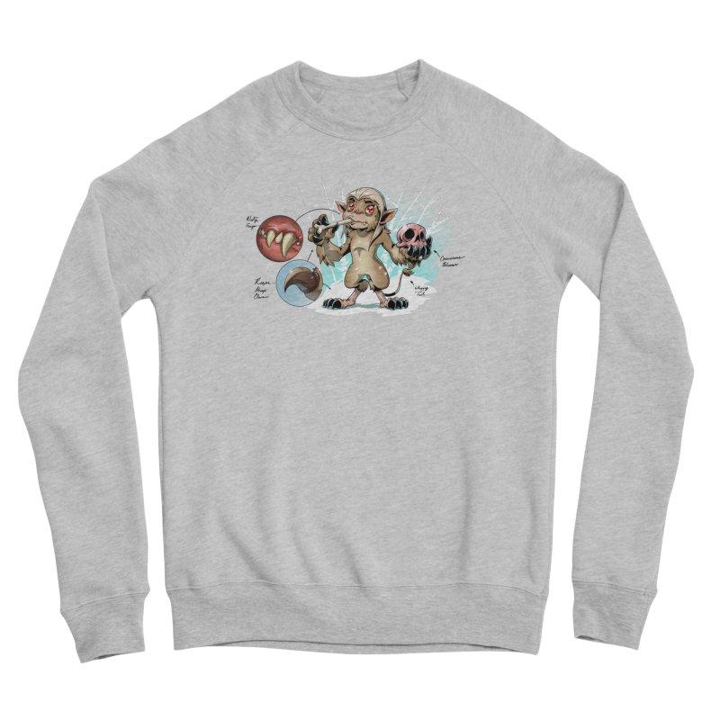 Wendigo Danger Diagram Women's Sweatshirt by Little Ninja Studios