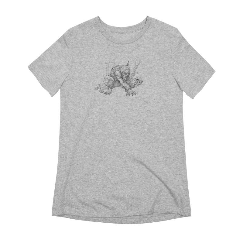 Wendigo Women's T-Shirt by Little Ninja Studios