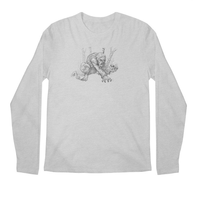 Wendigo Men's Longsleeve T-Shirt by Little Ninja Studios
