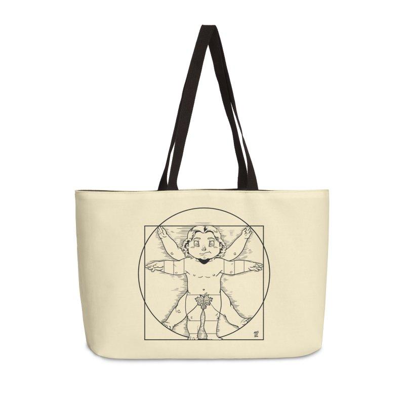 Vitruvian Chibi Accessories Bag by Little Ninja Studios