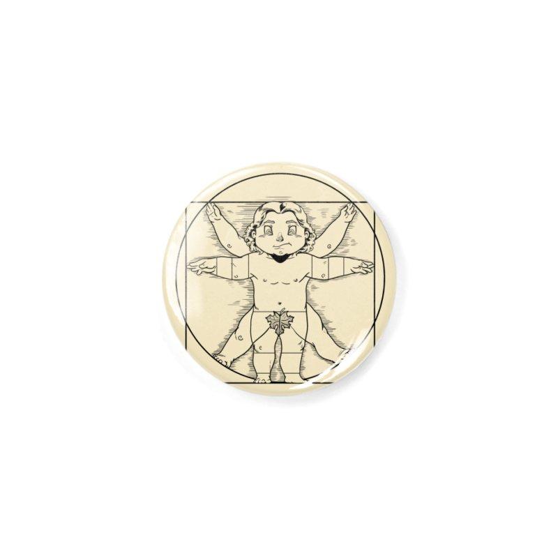 Vitruvian Chibi Accessories Button by Little Ninja Studios