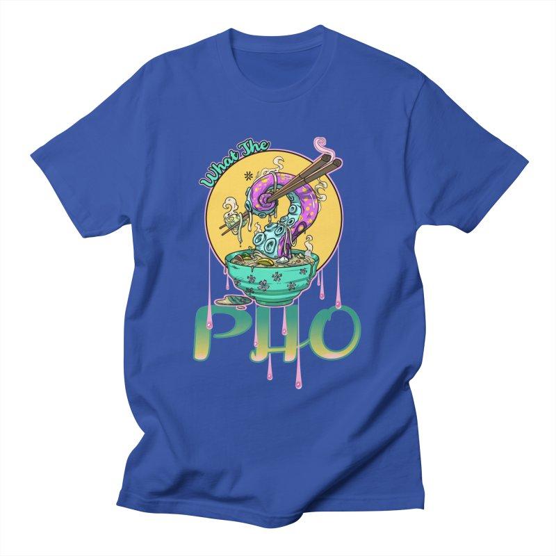 What The Pho Men's T-Shirt by Little Ninja Studios