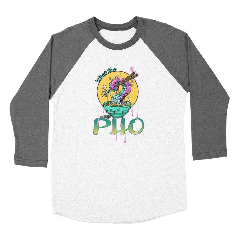 What The Pho Women's Longsleeve T-Shirt by Little Ninja Studios