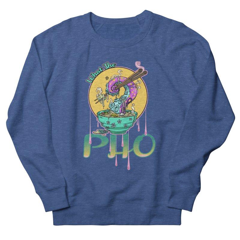 What The Pho Men's Sweatshirt by Little Ninja Studios