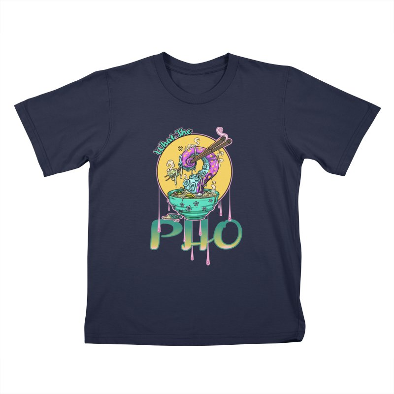 What The Pho Kids T-Shirt by Little Ninja Studios