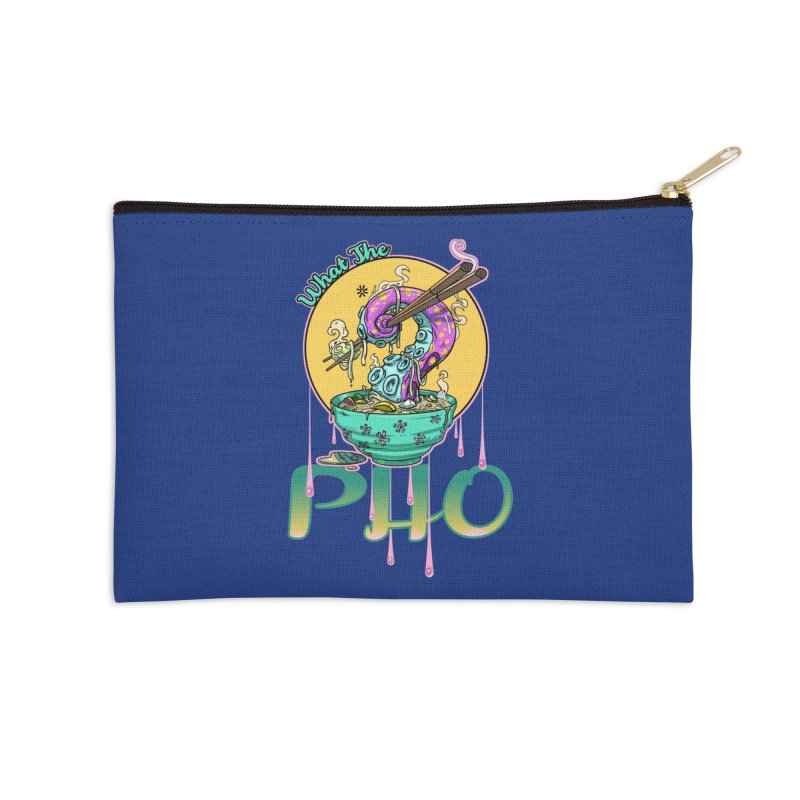 What The Pho Accessories Zip Pouch by Little Ninja Studios