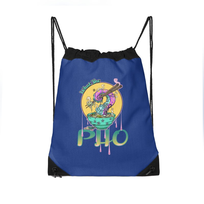 What The Pho Accessories Bag by Little Ninja Studios