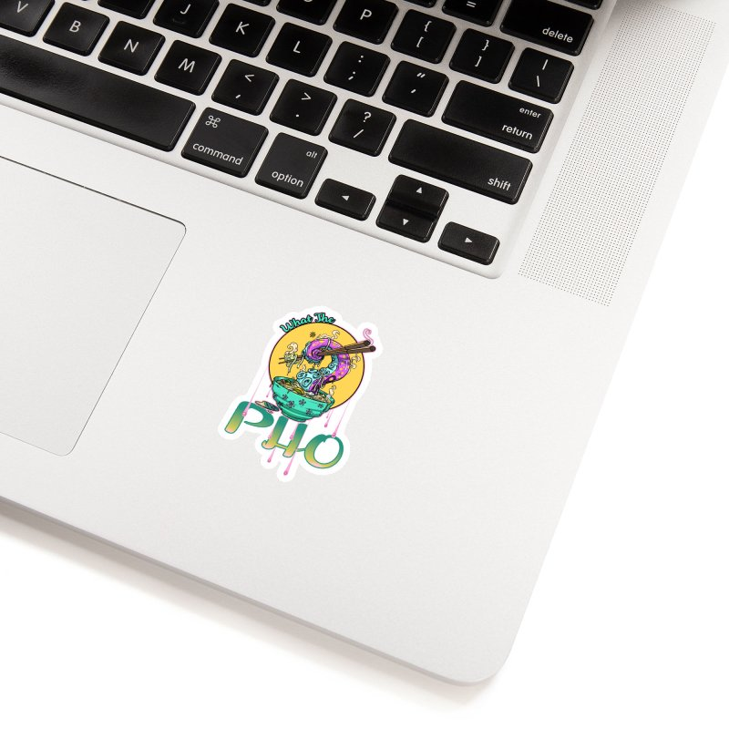 What The Pho Accessories Sticker by Little Ninja Studios
