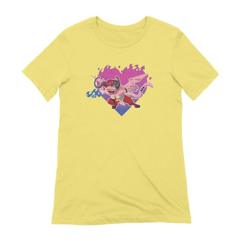 Heart Burn Women's T-Shirt by Little Ninja Studios