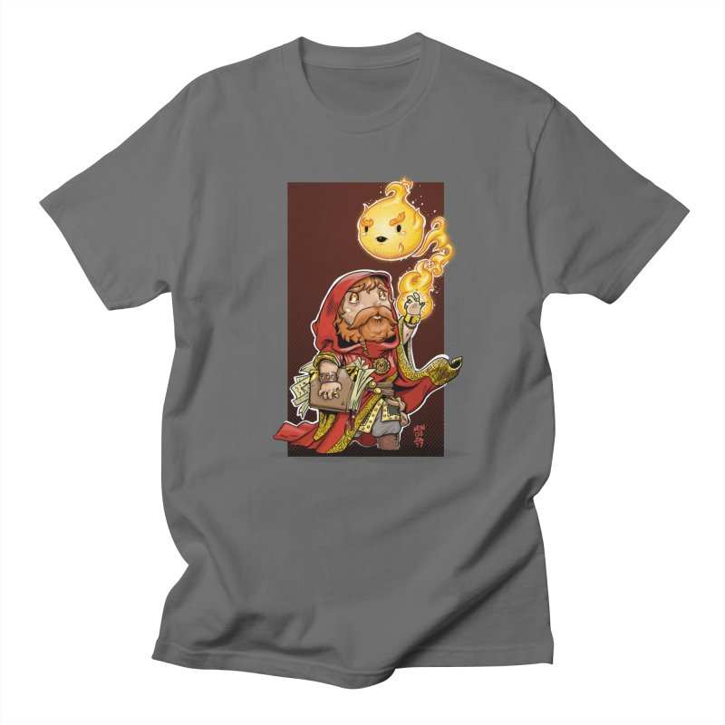 Pyromancer Men's T-Shirt by Little Ninja Studios, LLC