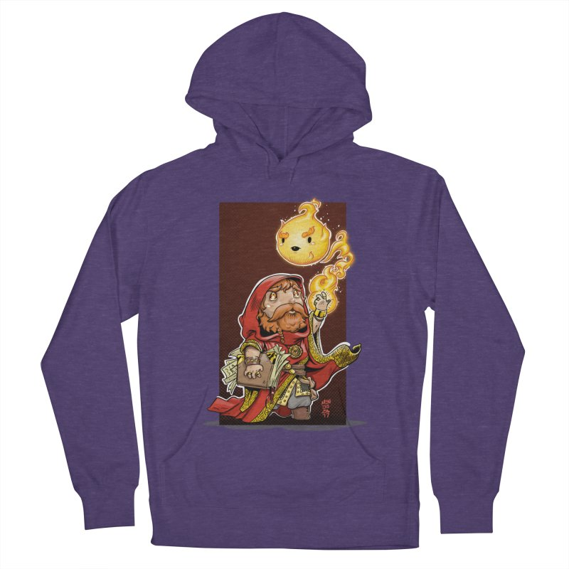 Pyromancer Women's French Terry Pullover Hoody by Little Ninja Studios, LLC