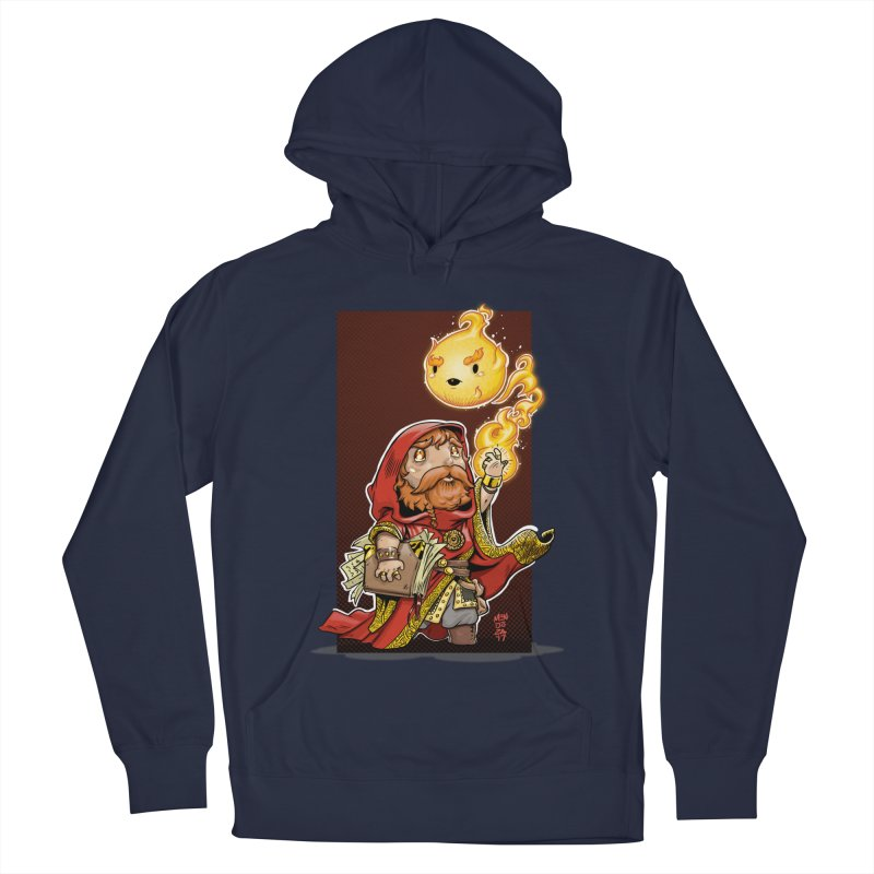 Pyromancer Men's Pullover Hoody by Little Ninja Studios