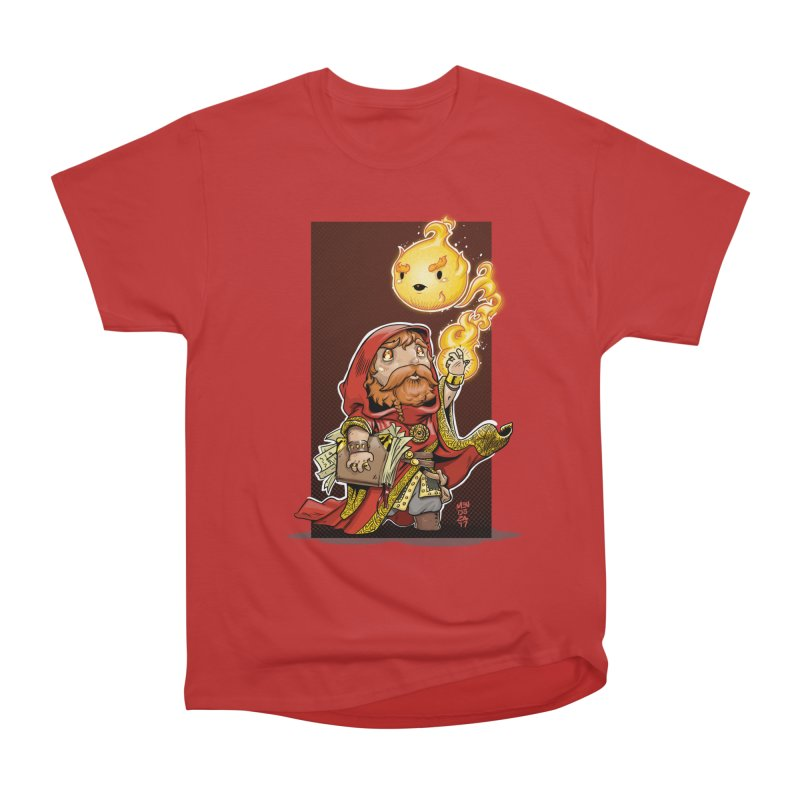 Pyromancer Men's Heavyweight T-Shirt by Little Ninja Studios, LLC