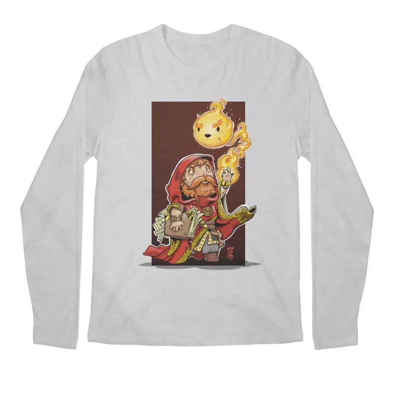 Pyromancer Men's Regular Longsleeve T-Shirt by Little Ninja Studios