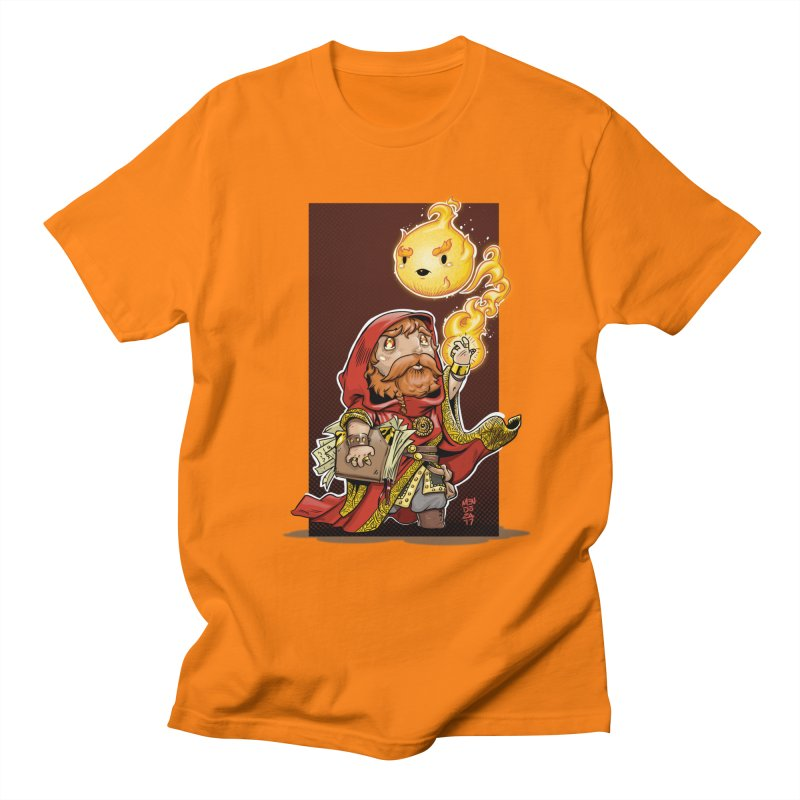 Pyromancer Men's Regular T-Shirt by Little Ninja Studios, LLC