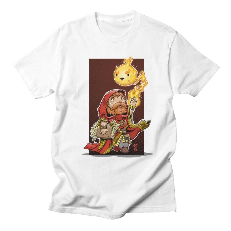 Pyromancer Men's Regular T-Shirt by Little Ninja Studios