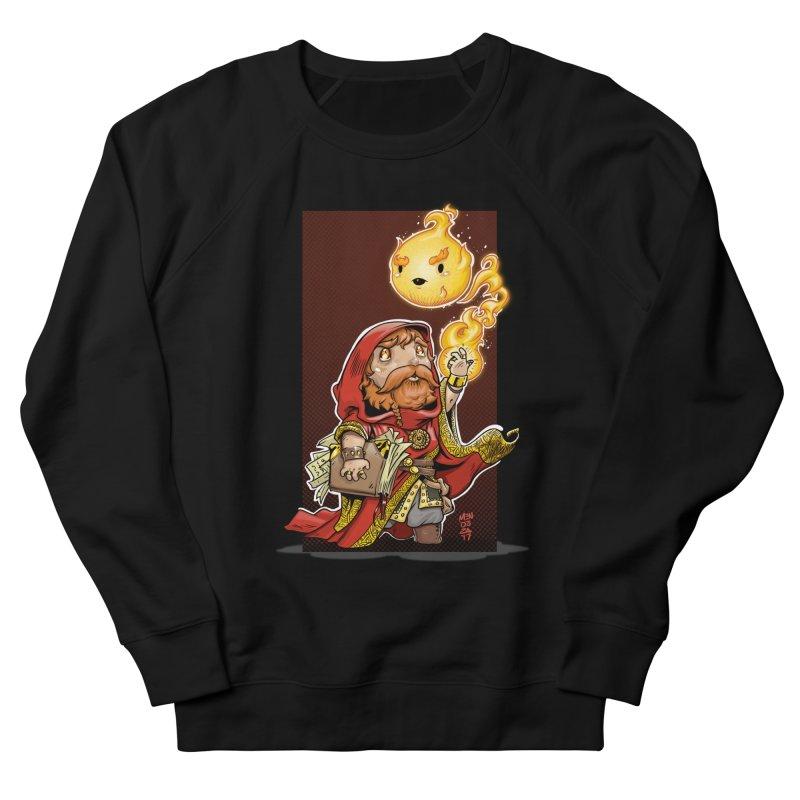 Pyromancer Women's French Terry Sweatshirt by Little Ninja Studios, LLC