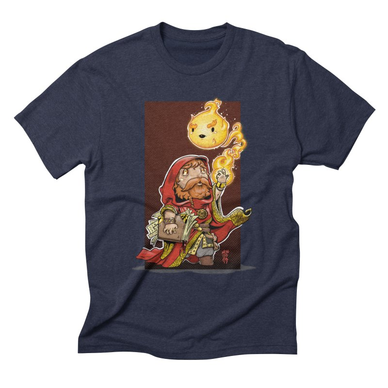 Pyromancer Men's Triblend T-Shirt by Little Ninja Studios, LLC