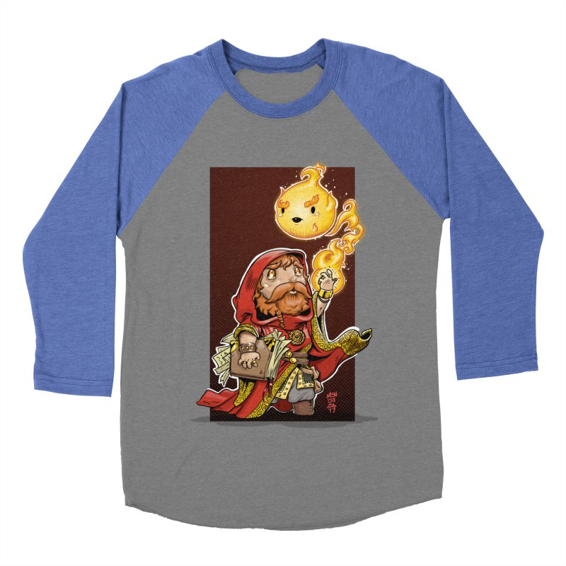 Pyromancer Women's Baseball Triblend Longsleeve T-Shirt by Little Ninja Studios