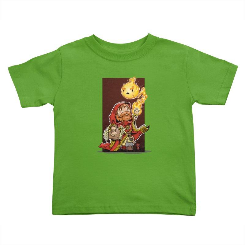 Pyromancer Kids Toddler T-Shirt by Little Ninja Studios, LLC