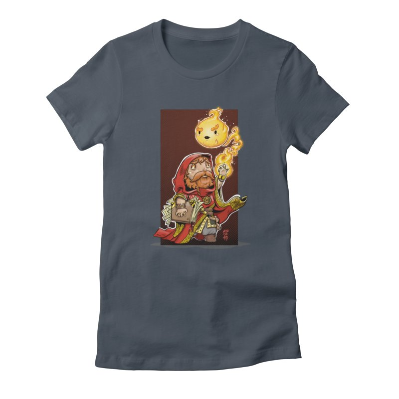 Pyromancer Women's T-Shirt by Little Ninja Studios