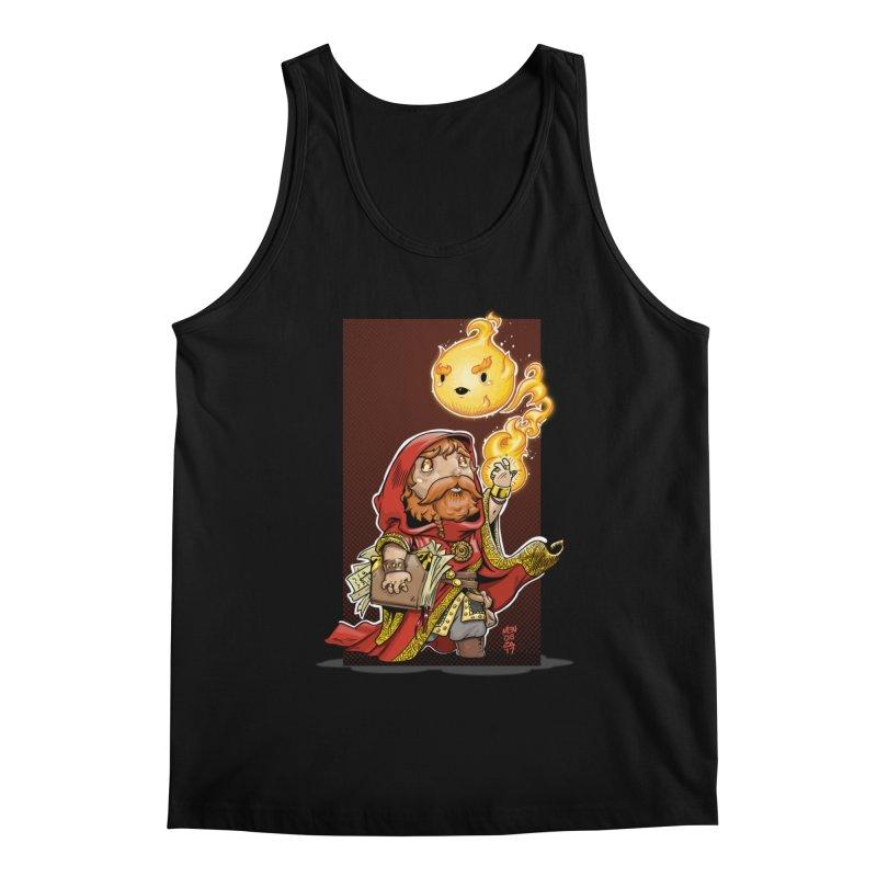 Pyromancer Men's Regular Tank by Little Ninja Studios