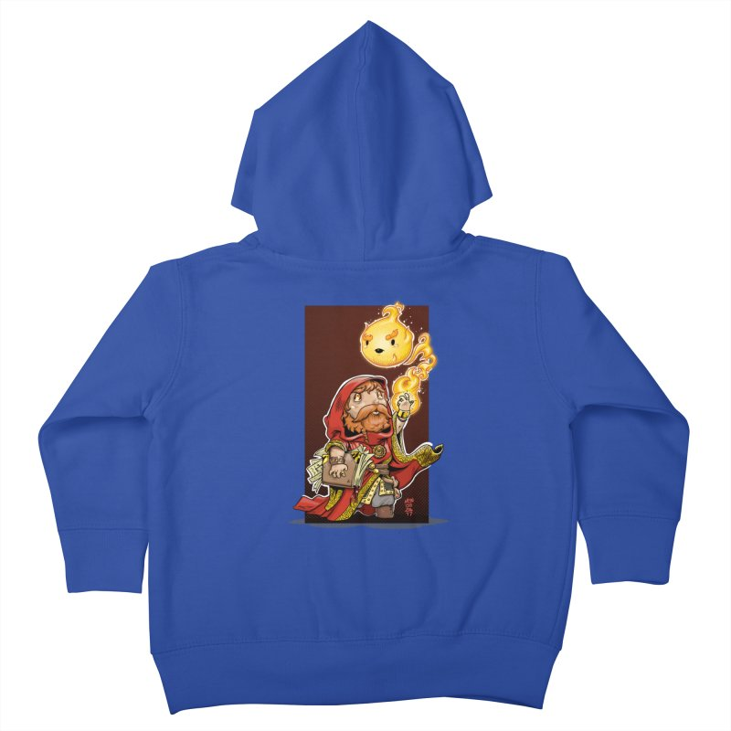 Pyromancer Kids Toddler Zip-Up Hoody by Little Ninja Studios