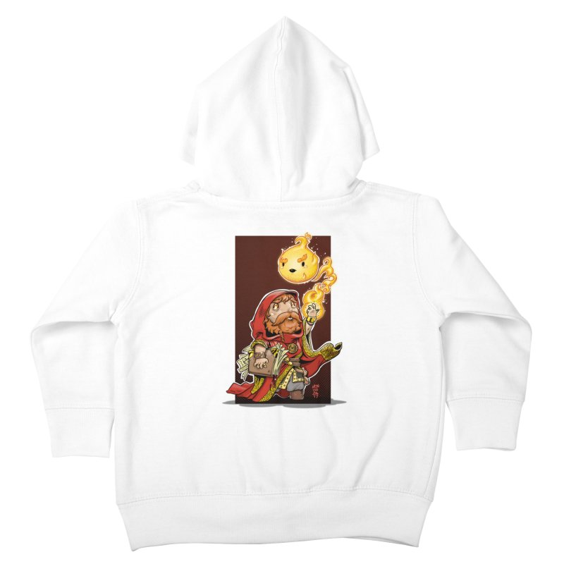Pyromancer Kids Toddler Zip-Up Hoody by Little Ninja Studios, LLC