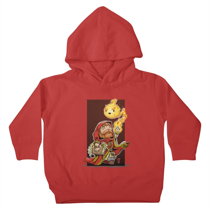Pyromancer Kids Toddler Pullover Hoody by Little Ninja Studios