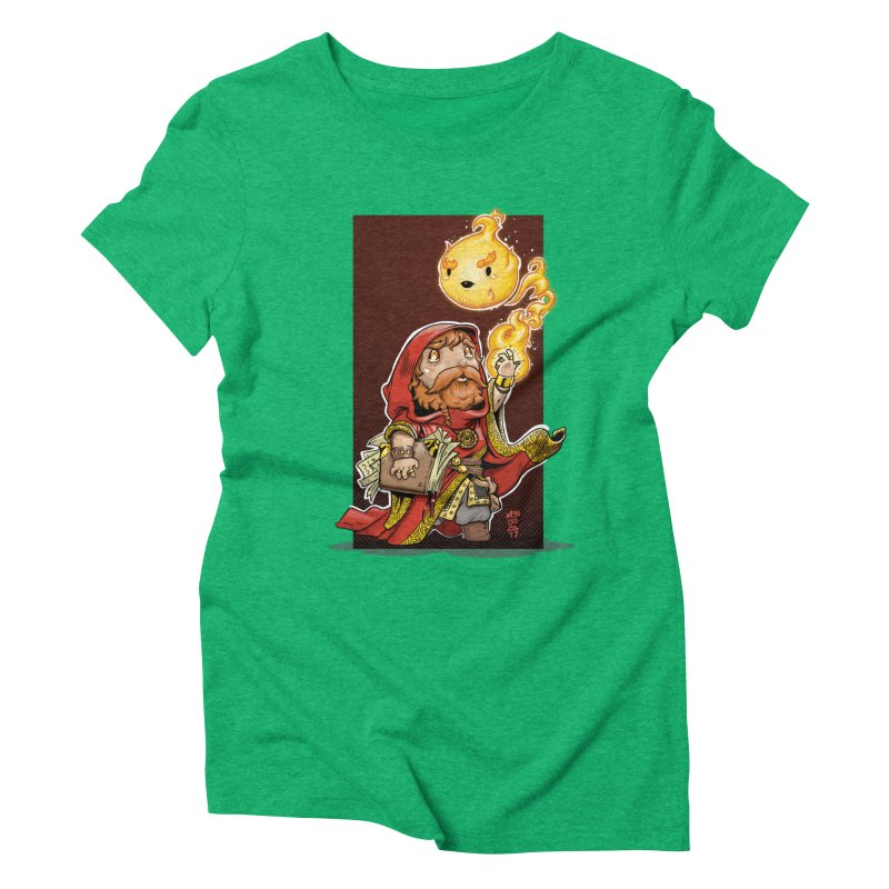 Pyromancer Women's Triblend T-Shirt by Little Ninja Studios, LLC