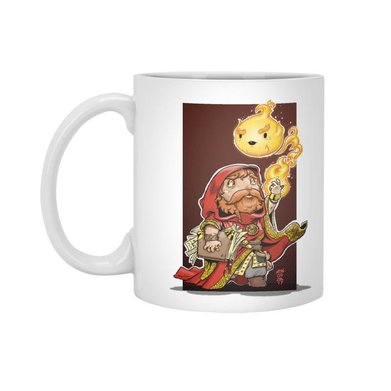 Pyromancer Accessories Standard Mug by Little Ninja Studios, LLC