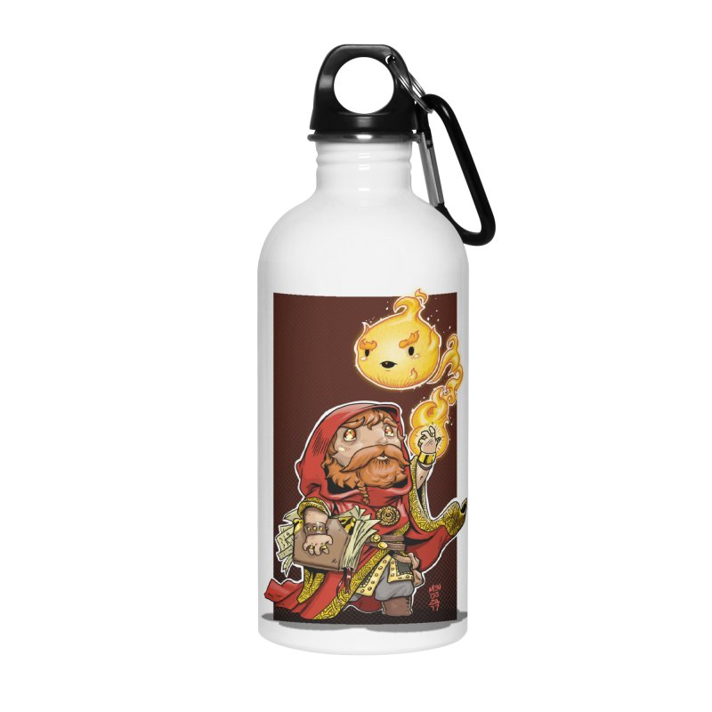 Pyromancer Accessories Water Bottle by Little Ninja Studios, LLC