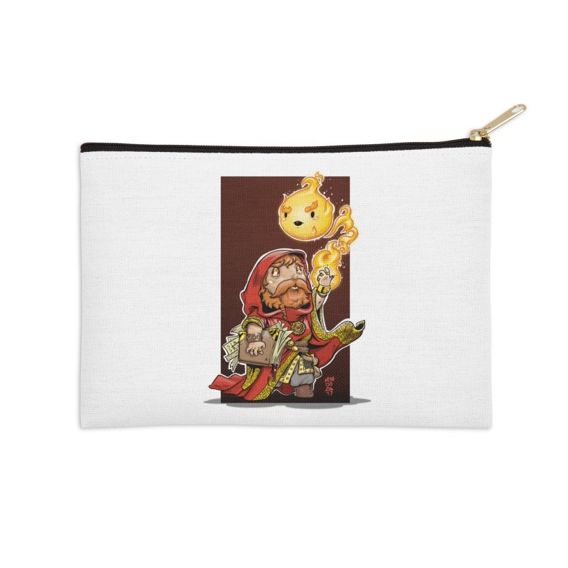 Pyromancer Accessories Zip Pouch by Little Ninja Studios, LLC