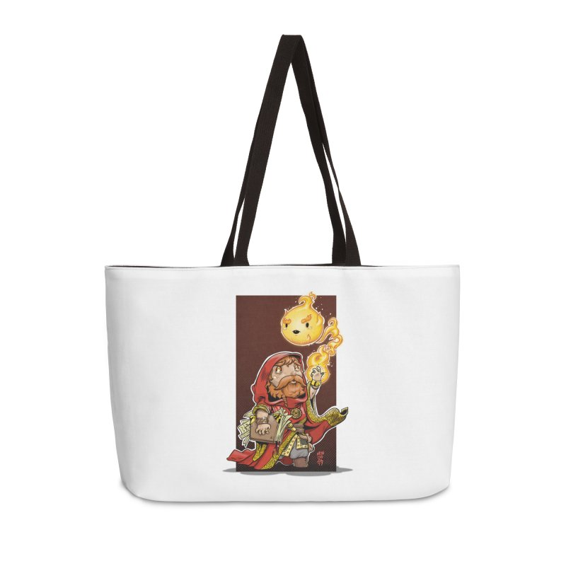 Pyromancer Accessories Weekender Bag Bag by Little Ninja Studios