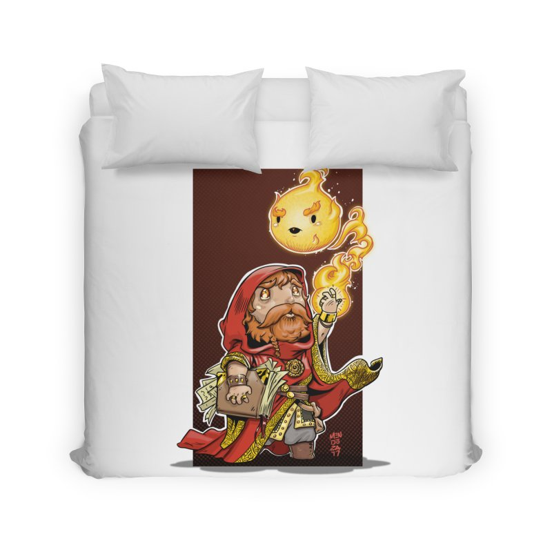 Pyromancer Home Duvet by Little Ninja Studios, LLC