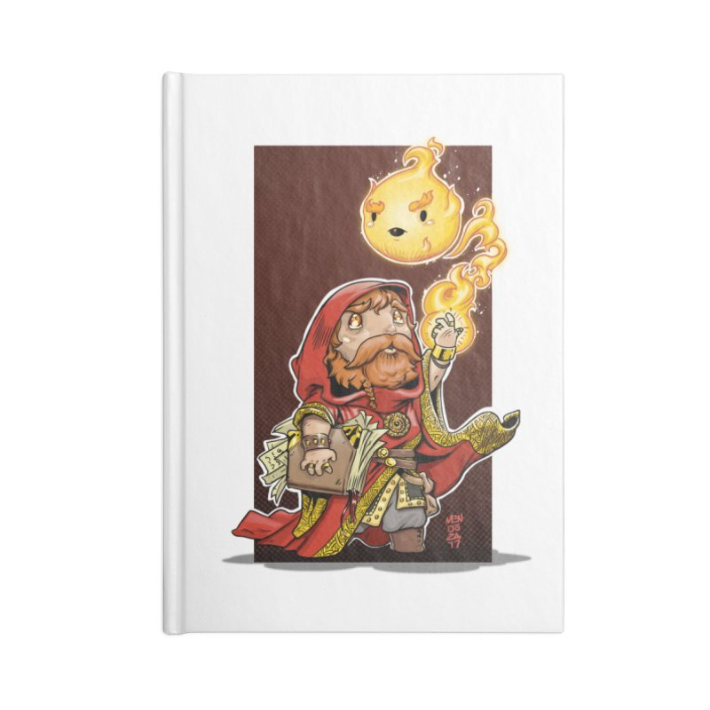 Pyromancer Accessories Blank Journal Notebook by Little Ninja Studios, LLC