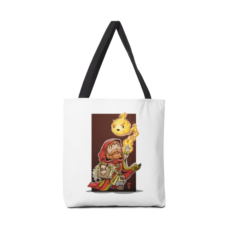 Pyromancer Accessories Tote Bag Bag by Little Ninja Studios